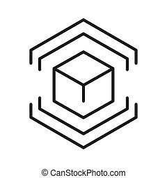 model preparation icon illustration design