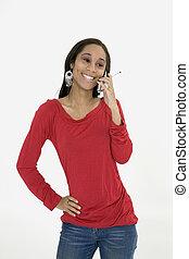 African American - Model Release 379 African American teen...