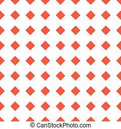 model, seamless, achtergrond, witte , pleinen, rood