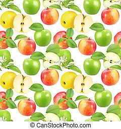 model, seamless, appeltjes