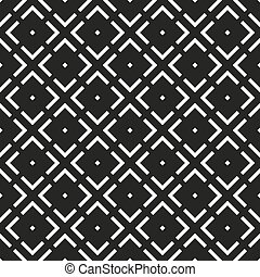 model, -, seamless, black , geometrisch, witte