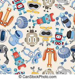 model, seamless, robot