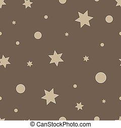model, seamless, stars., vector, geometrisch, het herhalen, texture.