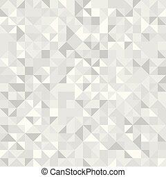 model, seamless, vector, licht, geometrisch, driehoeken