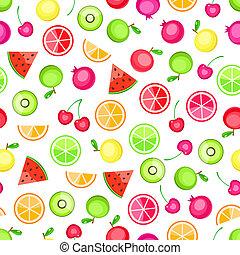 model, seamless, vruchten