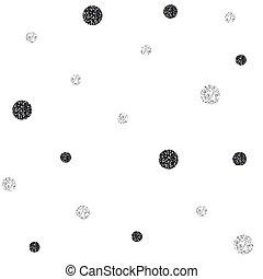 model, seamless, zwarte achtergrond, schitteren, zilver, punt