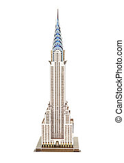 "Model skyscraper ""Chrysler Building"" (symbols of New York)"