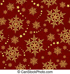model, sterretjes, snowflakes, winter, seamless