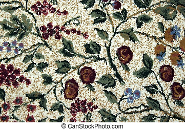 model, tapijt