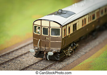 model train carriage