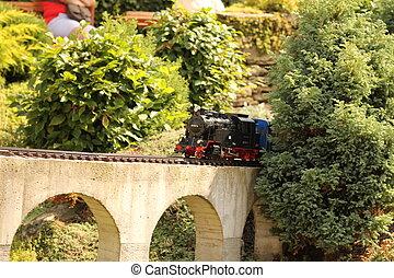 Model train.