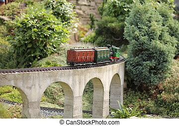 model, train.