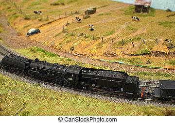 model trein