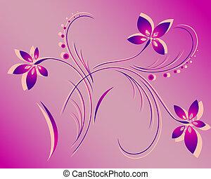 model, vector, bloem