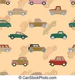 model, vector, seamless, auto's