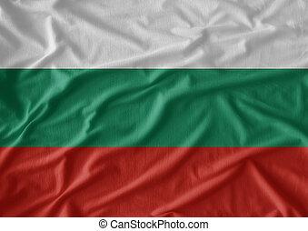 model, vlag, weefsel, textuur, bulgarije