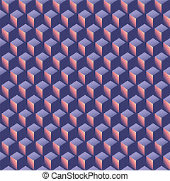 model, vorm, isometric, abstract, achtergrond