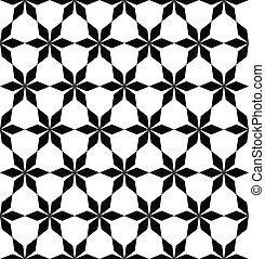 model, witte , herhalen, black , geometrisch