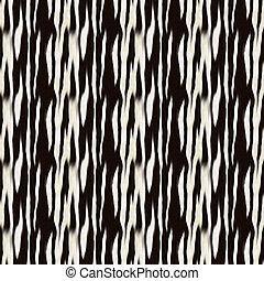 model, zebra stript