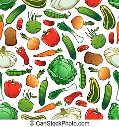 model, zelenina, seamless, čerstvý