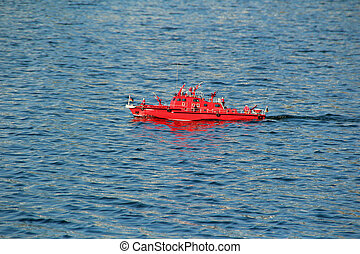 modell boat red phoenix see