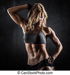 modell, fitness