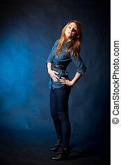 modell - pose