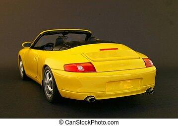 modell, sportwagen