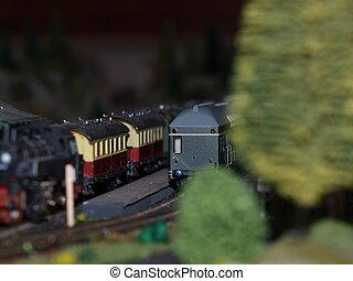 Modellbau Eisenbahnanlage Kohleschuppen