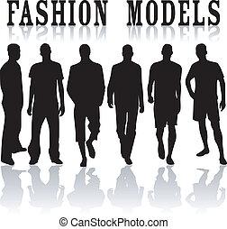 modelli, moda