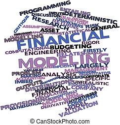 modellieren, finanziell