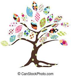 modello, albero