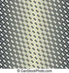 modello, argenteo, diagonale, (vector), seamless