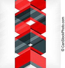 modello, astratto, geometrico, affari