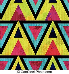 modello, astratto, geometrico, colorito, seamless