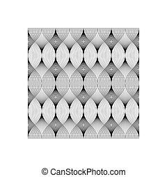 modello, astratto, linee, seamless, fondo., geometrico