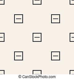 modello, astratto, quadrato, seamless, fondo