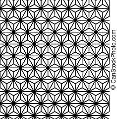 modello, astratto, seamless, struttura, vettore, geometrico