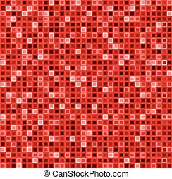 modello, astratto, squadre, seamless, vettore, fondo., rosso, color., geometrico