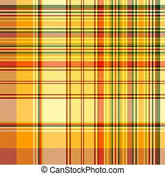 modello, checkered, seamless, giallo
