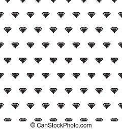 modello, diamante, seamless