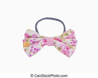 modello fiore, arco, fascia capelli, cravatta