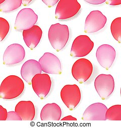 modello, fiore, rosa, seamless, petali