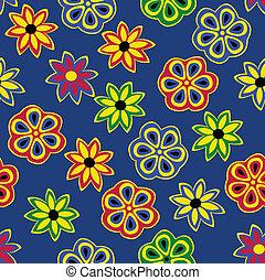 modello, fiori