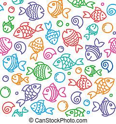 modello, fish
