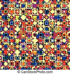 modello, geometrico, colorito, elements., seamless