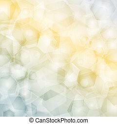 modello geometrico, triangoli, polygonal, fondo, design.
