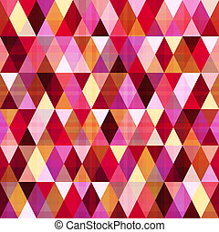 modello, geometrico, triangolo, seamless