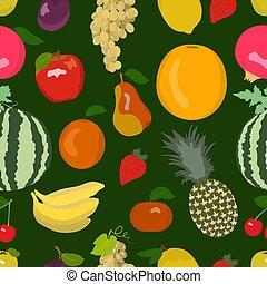 modello, luminoso, fruity, seamless