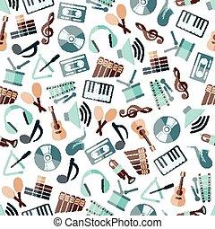 modello, musica, seamless